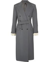 Prada Mohair And Wool Blend Coat