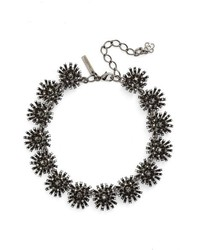 Oscar de la Renta Crystal Firework Collar Necklace