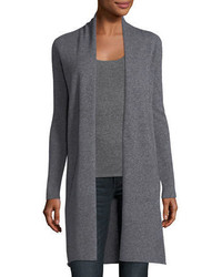 Neiman Marcus Cashmere Collection Classic Cashmere Duster Cardigan