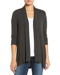 Bobeau Highlow Jersey Cardigan