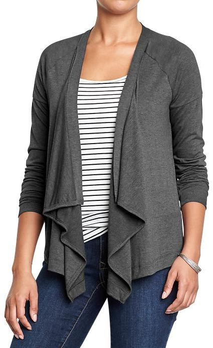 Old Navy Jersey Open Front Cardigans | Where to buy & how to wear