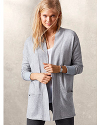 Victoria's Secret Fleece Open Cardi | Where to buy & how to wear