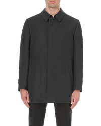 Corneliani Blouson Wool Raincoat