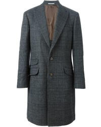 Brunello Cucinelli Prince Of Wales Overcoat