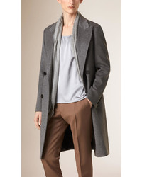 Burberry Cashmere Wool Blend Topcoat
