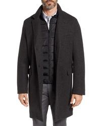 Andrew Marc Cunningham Inset Topcoat