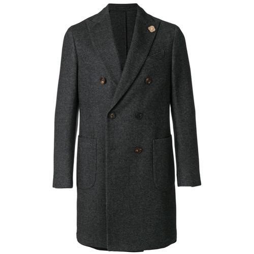 Lardini Double Breasted Tailored Coat
