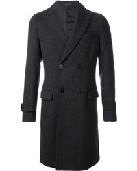 Emporio Armani Double Breasted Overcoat