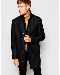 Esprit Overcoat With High Neck