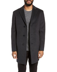 Nordstrom Men's Shop Fit Wool Blend Coat