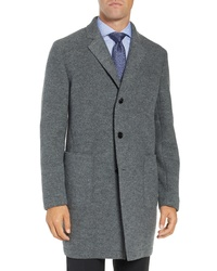BOSS Fit Wool Overcoat
