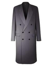 Fendi Graduated Print Double Breasted Wool Coat
