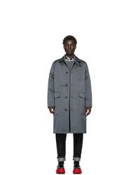 Valentino Grey Caban Coat