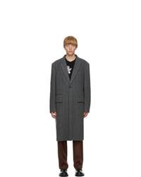 Valentino Grey Wool Coat