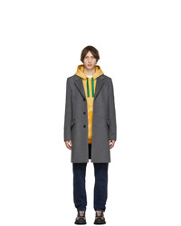 Acne Studios Grey Wool Odilon Coat