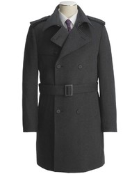 Jacob Siegel Belted Trench Coat
