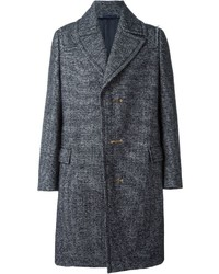 Lanvin Bar Fastening Overcoat
