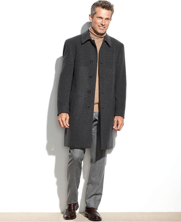 963de4112994 ... Lauren Ralph Lauren Lauren By Ralph Lauren Coat Ivy Wool Blend Overcoat  ...