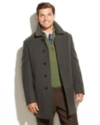 Lauren Ralph Lauren Coat Jake Solid Wool Blend Overcoat