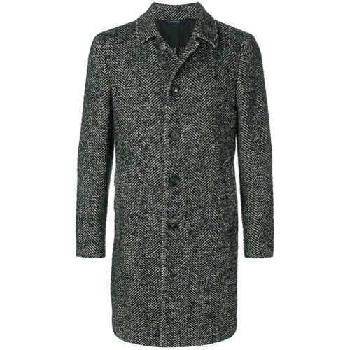 Dell'oglio Long Sleeved Button Up Coat