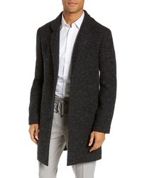 Club Monaco Loukas Nep Flecked Topcoat