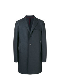 Harris Wharf London Mid Length Single Breasted Coat