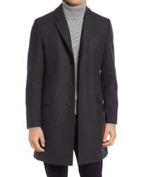 Hugo Migor Wool Blend Overcoat