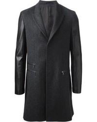 Neil Barrett Contrasting Sleeve Coat