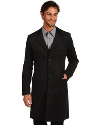 Shades of Grey Notched Lapel Overcoat Apparel