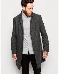 Nudie Jeans Nudie Overcoat Leon Loose Recyled Wool