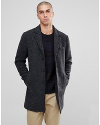 ONLY & SONS Salt And Pepper Overcoat