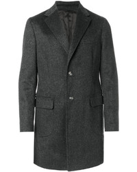 Barba Single Breasted Classic Coat