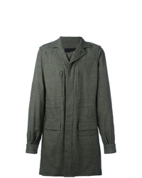 Haider Ackermann Single Breasted Coat Grey