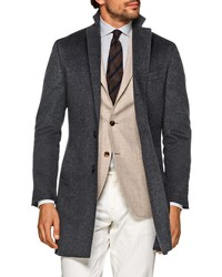 Suitsupply Vicenza Unconstructed Wool Overcoat
