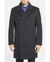 Vince Camuto Water Resistant Double Breasted Topcoat