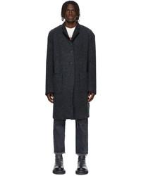 R13 Wool Facing Raw Cut Coat