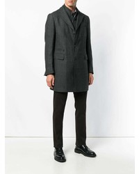 Corneliani Zipped Single Breasted Coat