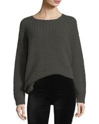 Oversized popcorn long sleeve sweater medium 5276977