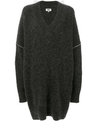 MM6 MAISON MARGIELA Oversized V Neck Jumper