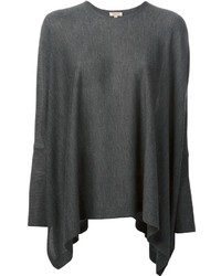 Oversized waterfall knit top medium 190186