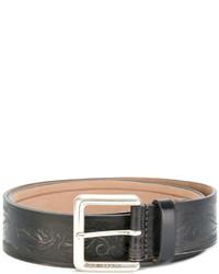 Etro Paisley Embossed Belt