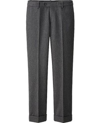 Uniqlo Idlf Flannel Straight Pants