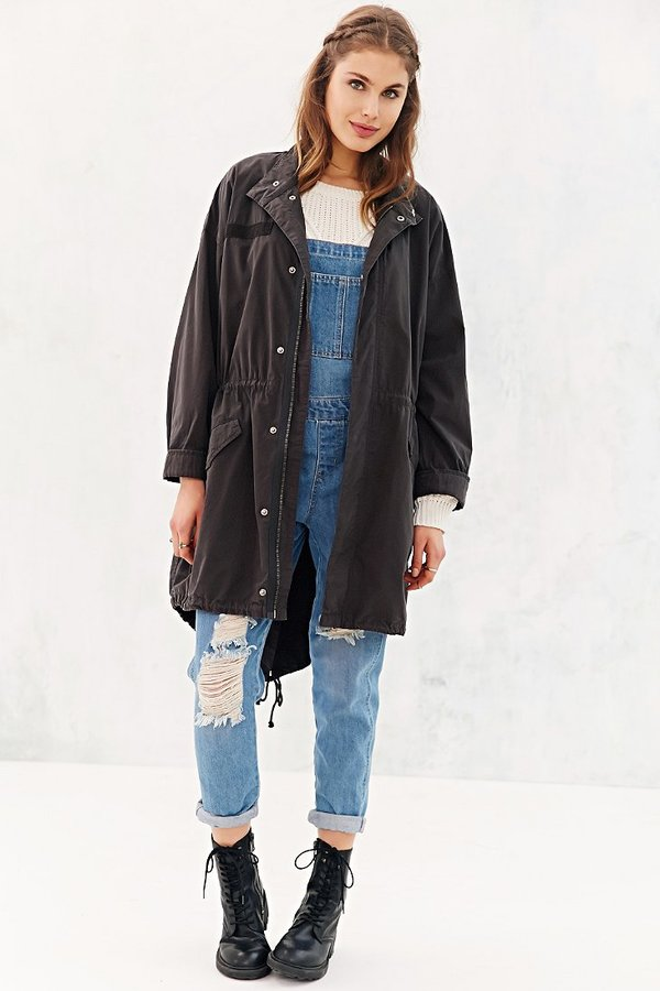 BDG Microsanded Parka Jacket | Where to buy & how to wear