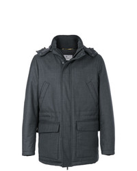 Canali Hooded Coat