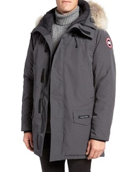 Canada Goose Langford Slim Fit Down Parka With Genuine Coyote