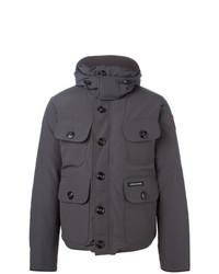 Selkirik parka coat grey medium 7130974