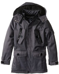 Urban Republic Kids Ballistic Jacket W Zip Off Hood Boys Coat