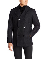 Kenneth Cole Reaction Classic Peacoat With Bib