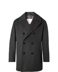 MACKINTOSH Double Breasted Wool And Cashmere Blend Peacoat