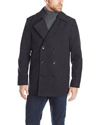 Haggar Bedford Double Breasted Peacoat